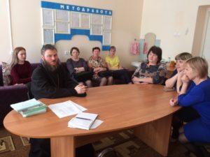 Благочинный Кизнерского округа посетил общеобразовательную школу